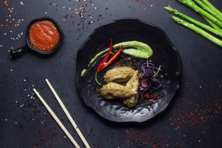 Steamed Momo by Momo King India