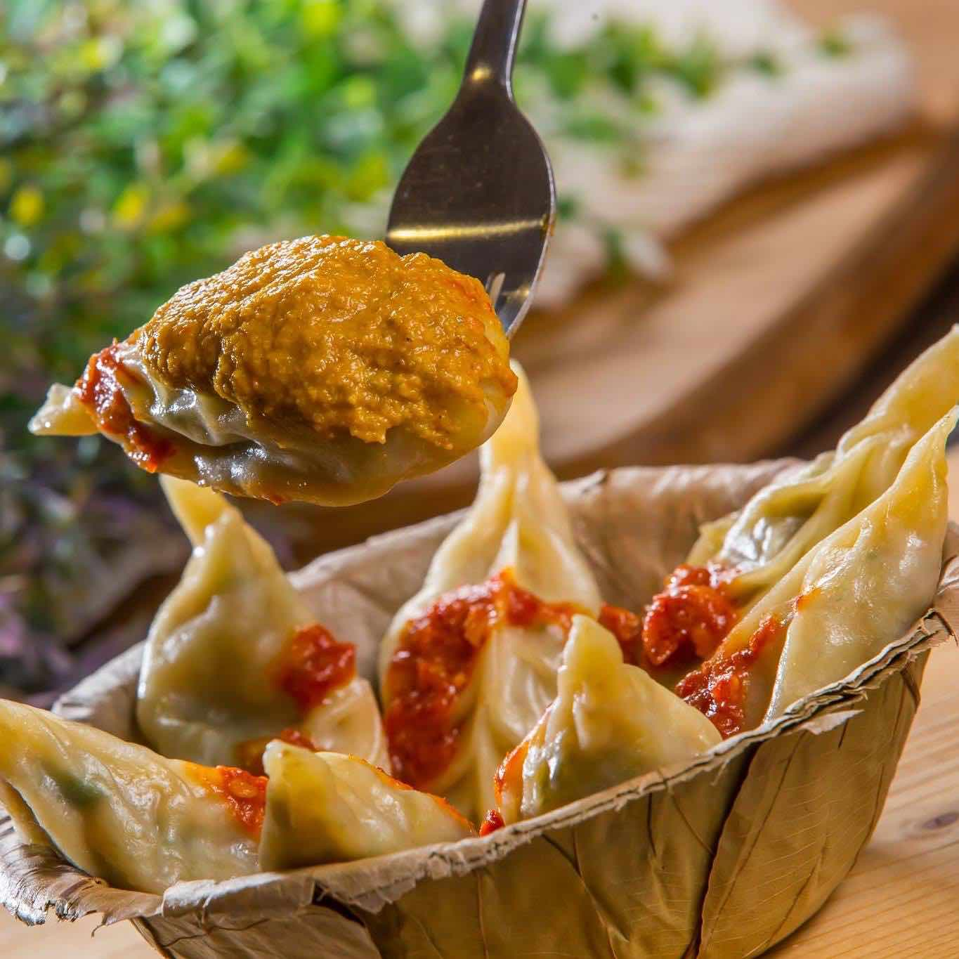 Real, Authentic and delicious Open Momos by Momo King India Malaysia
